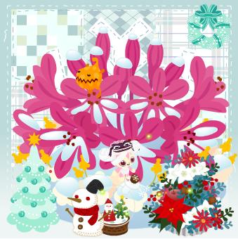 今週のヤミSHOP「何かが棲むクリスマスツリー」「何かが棲むクリスマスリース」「編みぐるみ雪だるま」「ミニ花Xmasツリー」「Xmasタペストリー」「Xmasスノーグローブ」